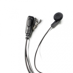 Earbud simply style earphone for conference, entertainment security